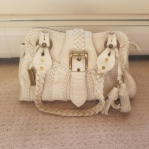 a2813863fae5 Lockheart Handbags - Off white leather Lockheart pocketbook